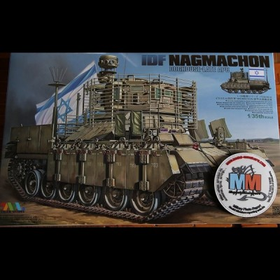 Nagmachon with Slat Armor, Tiger Model, 1/35