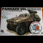 Panhard VBL .50 12.7mm Tiger Model 1.35 scale maquette french army vehicule miniature 1