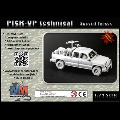 Pick-up Tecnnical (Special forces)