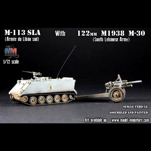 M-113 SLA with 122mm M1938 M-30