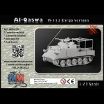 Al-qaswa (M-113 Cargo version) pakistanais 1/72