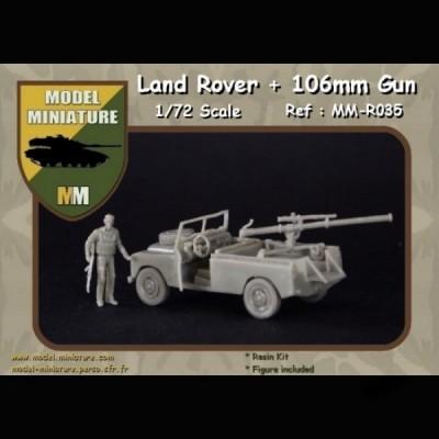 land rover +106mm Gun
