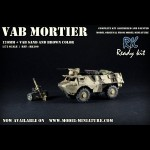 VAB mortar, (Daguet), Ready Kit, 1/72