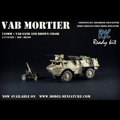 VAB mortar, (Daguet), Ready Kit, 1/72