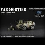 VAB mortar, (OTAN), Ready Kit, 1/72