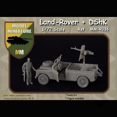 Land-Rover + DSHK