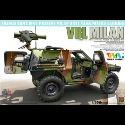 PANHARD VBL Milan, 1/35 Tiger Model