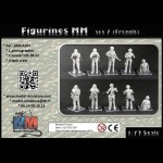 Figures MM set 7 (French soldiers)