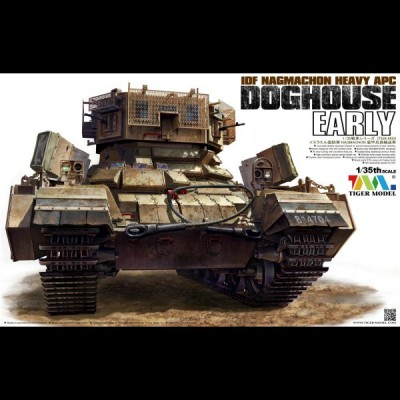 Nagmachon Doghouse Early, 1/35 Tiger Model