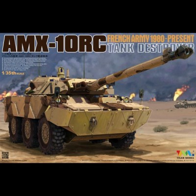 AMX-10RC 1991 (Daguet), Tiger Model, 1/35