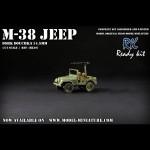M-38 Jeep 106mm gun, Ready Kit, 1/72