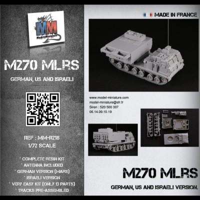 M270 MLRS (german, US and Israeli)