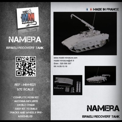 Namera Israeli recovery (on Merkava MBT)