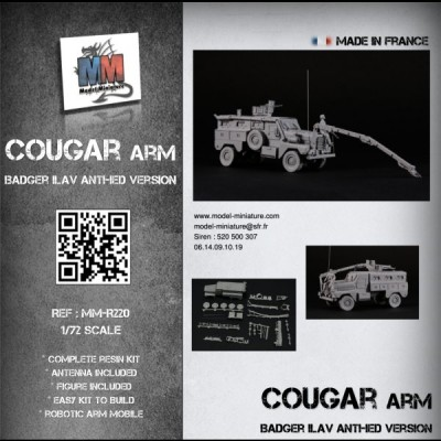 Cougar Badger (ILAV with robotic arm)