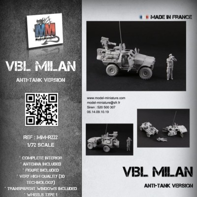 VBL Milan (anti-tank version)
