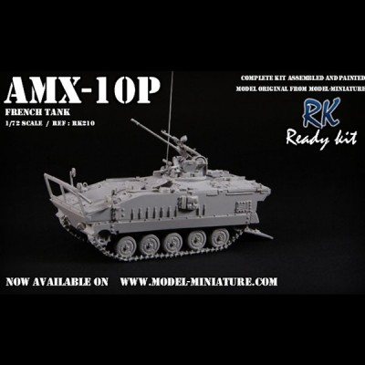 AMX-10P, Ready kit, 1/72