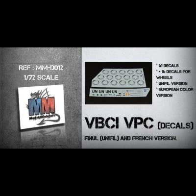 Decals pour VBCI VPC