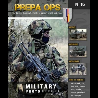 PREPA OPS (La brigade Franco-Allemande se prépare avant projection)