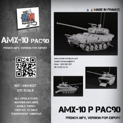 AMX-10P PAC 90mm (export version)
