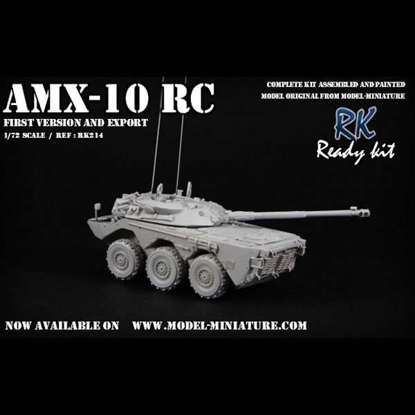 french version grey primer by Model Miniature AMX-10 RCR 1//72