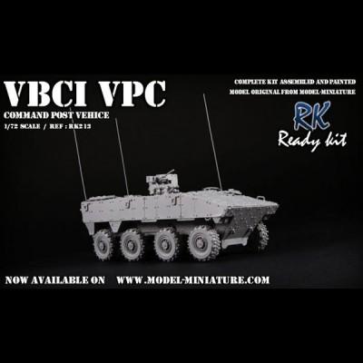 VBCI VPC (command post vehicle)