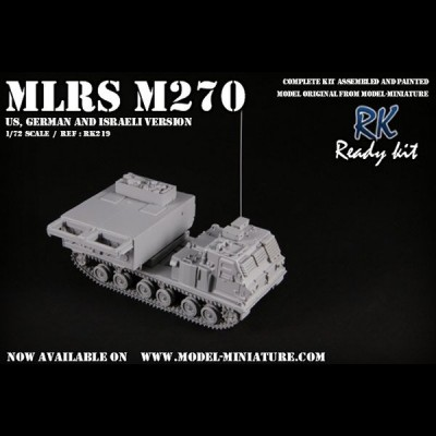 MLRS / M270 (US, German and Israeli version)