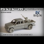Pick-up + ZPU-1, Ready kit