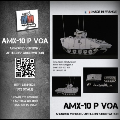 AMX-10P VOA (armored version / artillery observation)