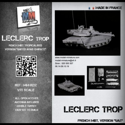 "Leclerc ""TROP"" (Version UAE / United arab emirate)"