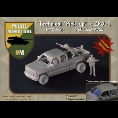 "Tecnical ""Pick-up"" + ZPU-1"