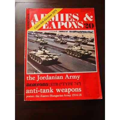 Armies et weapons n°20, Caire, 6th October 1975, Jordanian army, anti-tank.