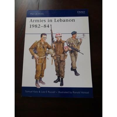 Armies in Lebanon 192-84, Osprey, Katz et Russell
