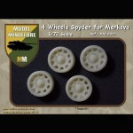 Wheels Spyder for Merkava