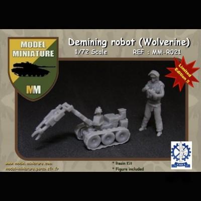 Demining robot (Wolverine)