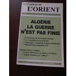 Algérie, La guerre n'est pas finie, Les cahiers de l'Orient, N°84, A. Sfeir
