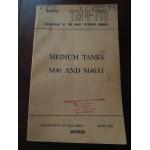 TM9-718, Medium Tanks M46 and M46A1, Technical Manual, avril 1951