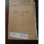 TM9-730, 76 MM tank gun T41E1n Technique Manual, juin 1951