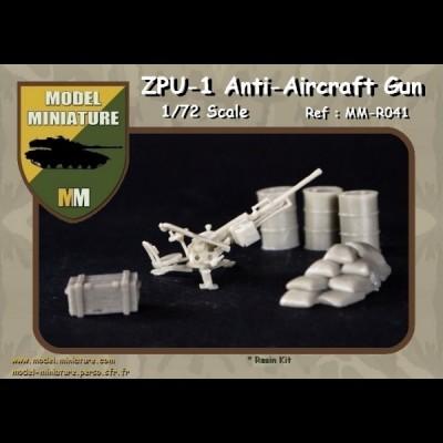 ZPU-1 Anti-Aicraft gun