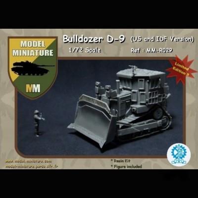 Bulldozer D-9 (US and IDF version)