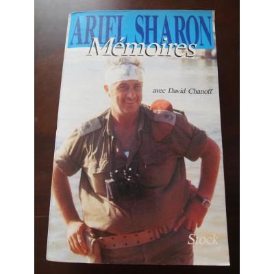 Ariel Sharon, mémoires, avec D Chanoff