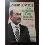 Anouar El-Sadate, à la recherche d'une identité, histoire de ma vie, Fayard