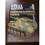 STEELMASTERS N°18, juillet 2012, normandie 1944,M32, Panther, M5A1 Stuart