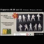 Figures MM set 4 (Police, Magav, Army)