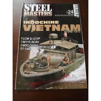 STEELMASTERS N°24, HS, janv 2014, Indochine, Vietnam, LCM? M-113, T-54