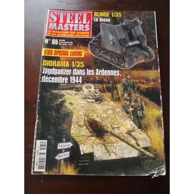 STEELMASTERS N°65, oct/nov 2004, Spécial Luchs, Jagpanzer ardennes 44