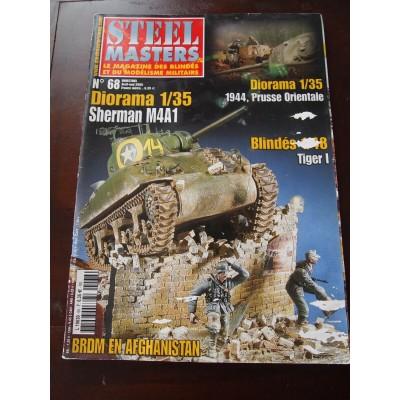 STEELMASTERS N°68, avril/mai 2005, Sherman M4A1, 1944 prusse oriental, Tiger I