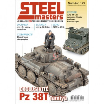 STELLMASTER N°173, dec 2019/janv 2020, Panzer 38 (T), ARL44, M76 Otter