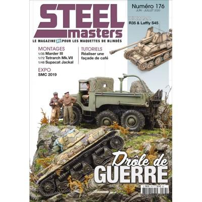 Steelmaster, N°176, R35 & Laffly S45, Marder III, . Pz.Kpfw.IV, Firefly