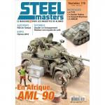 STEELMASTERS N°175, avril/ mai 2020, AML-90, T-70,  Sherman, R35