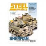 STEELMASTERS N0174,fev / mars 2020, M4A3(76), Crusader Mk. I,  Panzer I Breda